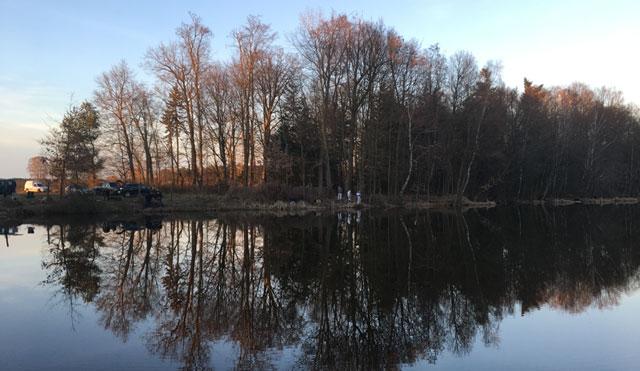 Angler am Brausebach Stau 3