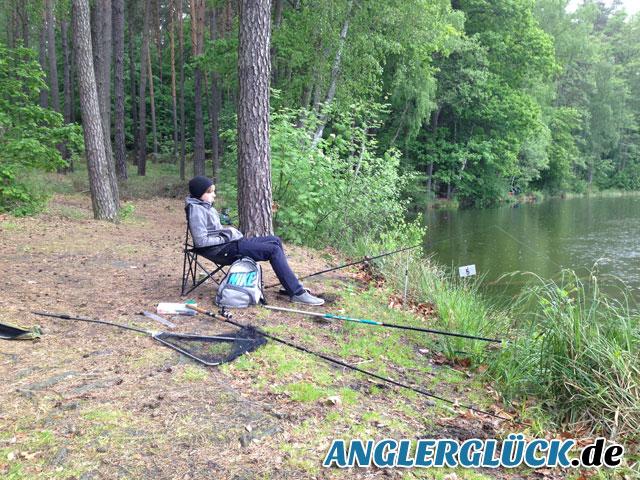 Anangeln 2013  vom AV Anglerglück e.V.